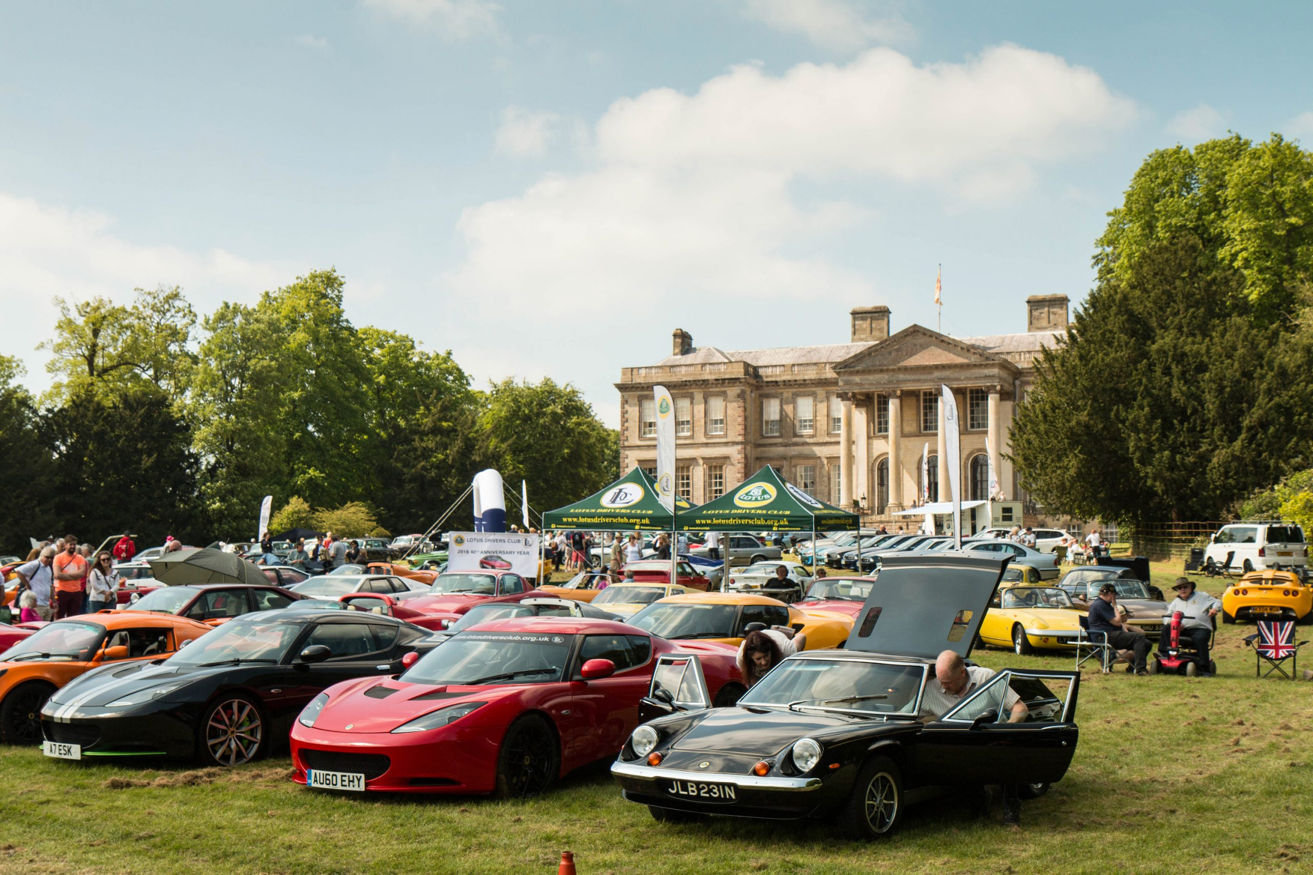 Ragley Hall Classic Car Show